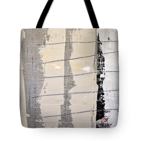 Tote Bag featuring the painting Square Study Project 2 by Michelle Calkins