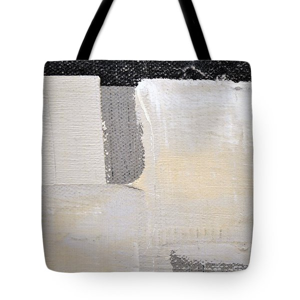 Tote Bag featuring the painting Square Study Project 3 by Michelle Calkins