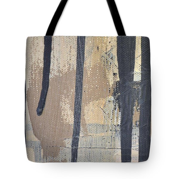 Tote Bag featuring the painting Square Study Project 5 by Michelle Calkins