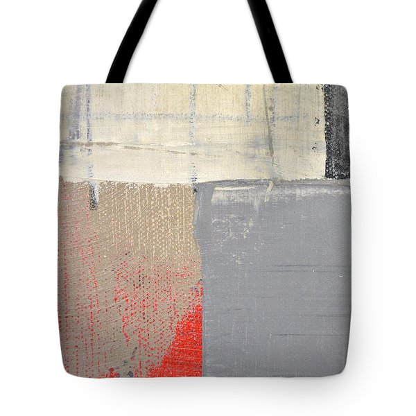 Tote Bag featuring the painting Square Study Project 8 by Michelle Calkins