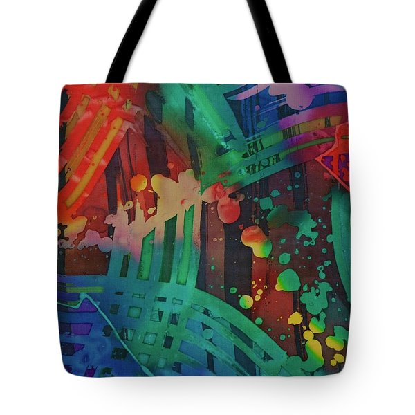 Squares And Other Shapes 2 Tote Bag