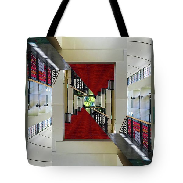 Tote Bag featuring the photograph Squares by Brian Jones
