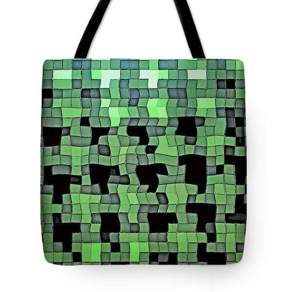 Tote Bag featuring the photograph Squares by Juls Adams