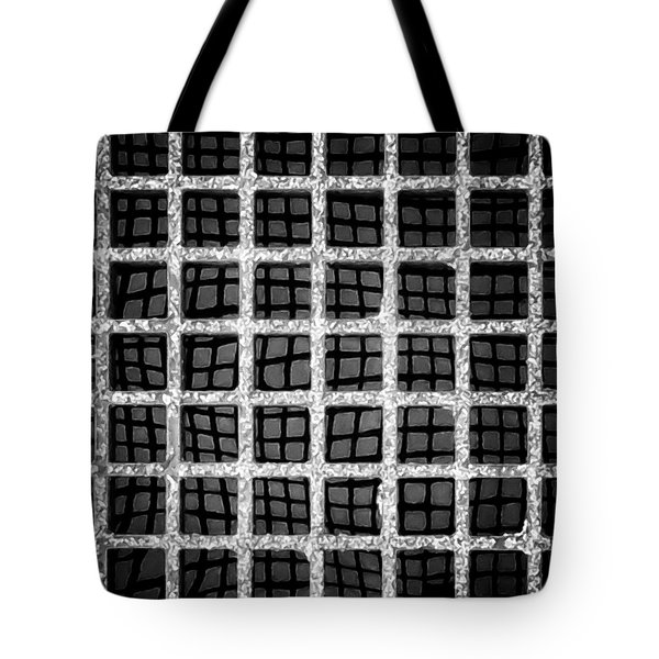 Tote Bag featuring the photograph Squaresville by Tom Vaughan