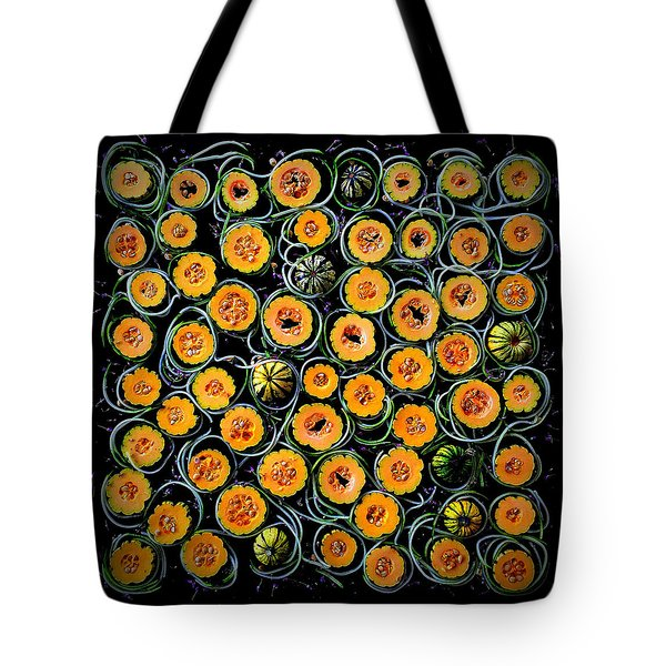 Squash And Zucchini Patters Tote Bag