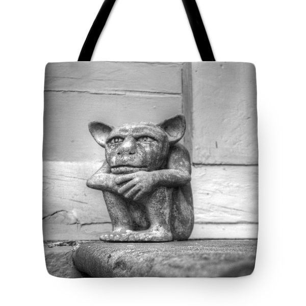 Tote Bag featuring the photograph Squatter by Michael Colgate