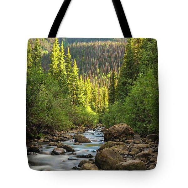 Squaw Creek, Colorado #2 Tote Bag