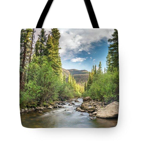 Squaw Creek, Colorado Tote Bag