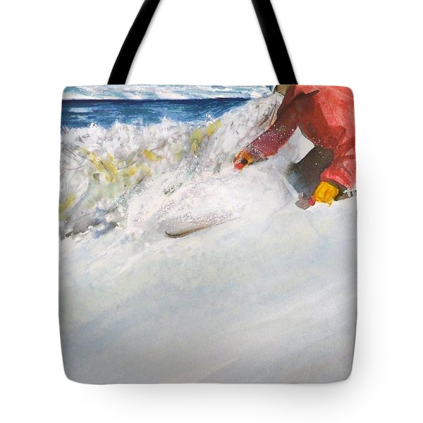 Beaver Creak Tote Bag by Ed Heaton