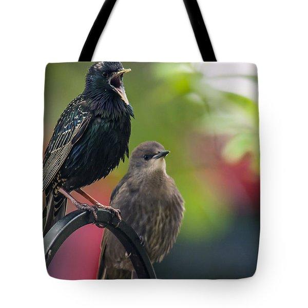 Squawker Tote Bag