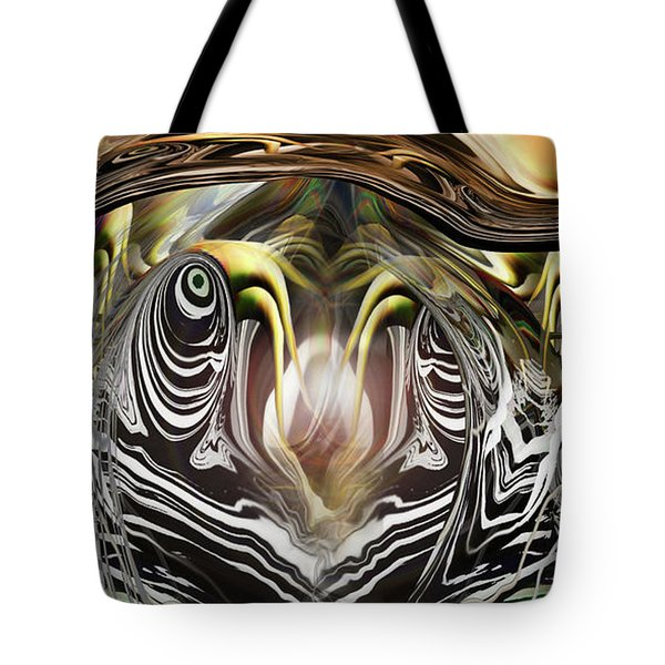Tote Bag featuring the photograph Squid Liquidation by Steve Sperry