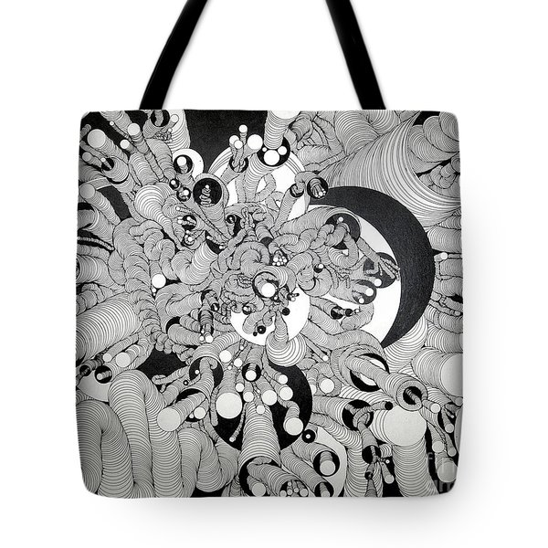 Squiggle Art By Amy Tote Bag