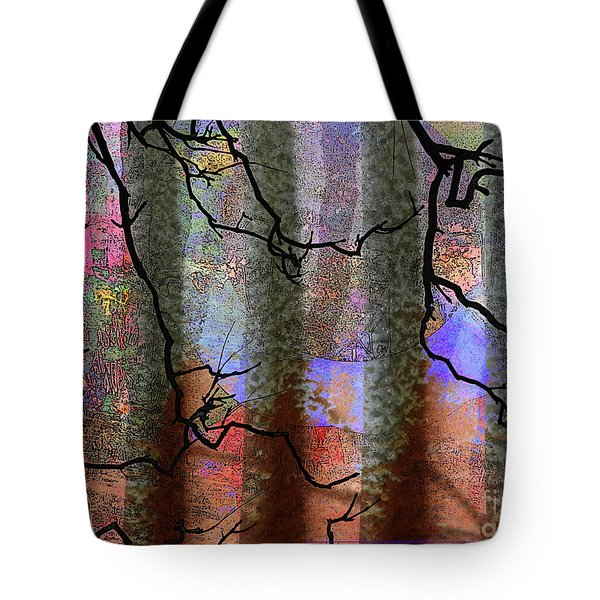 Squiggles And Lines Tote Bag by Robert Ball