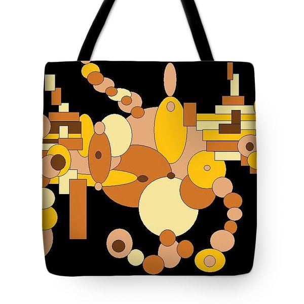 Squiggly Tote Bag