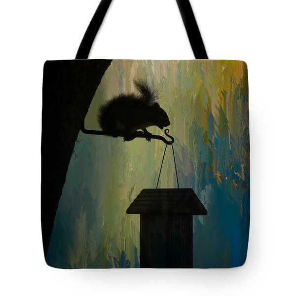 Squirrel  Tote Bag by Carolyn Dalessandro
