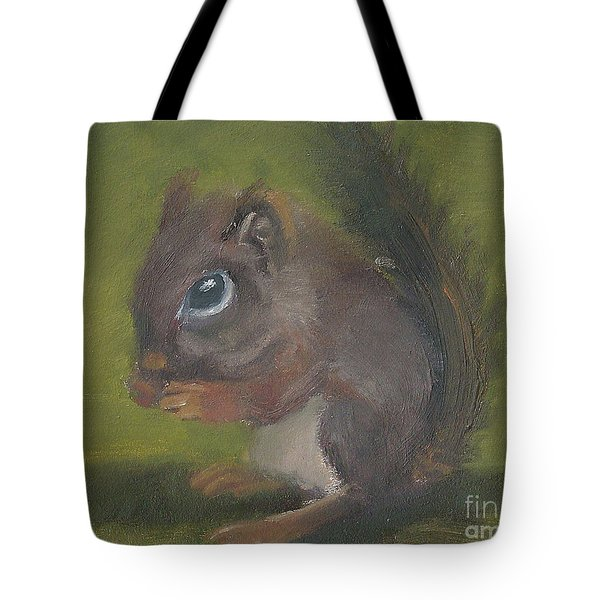 Squirrel Tote Bag by Jessmyne Stephenson