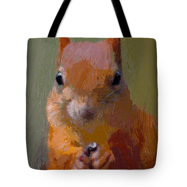 Squirrel One Tote Bag