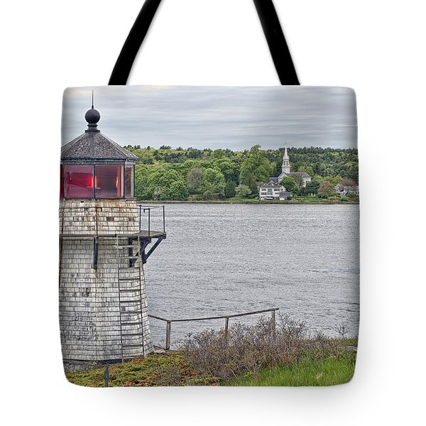 Squirrel Point Light Tote Bag by Richard Bean