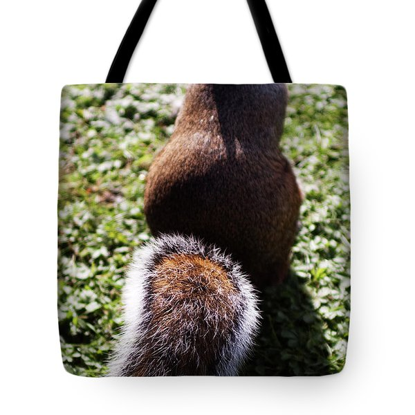 Squirrel S Back Tote Bag