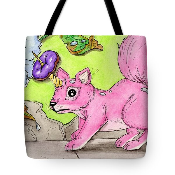 Squirrelicorn Tote Bag