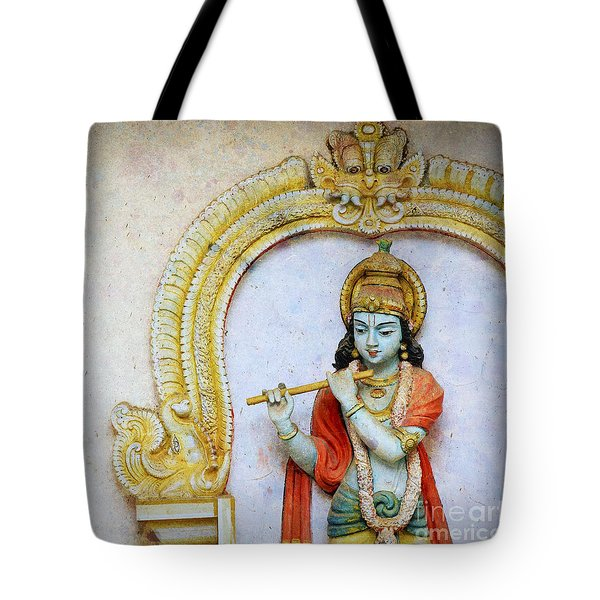 Sri Krishna Tote Bag