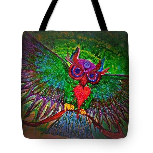 Ss Owl Tote Bag