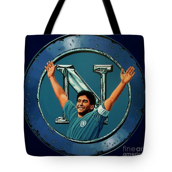 Ssc Napoli Painting Tote Bag