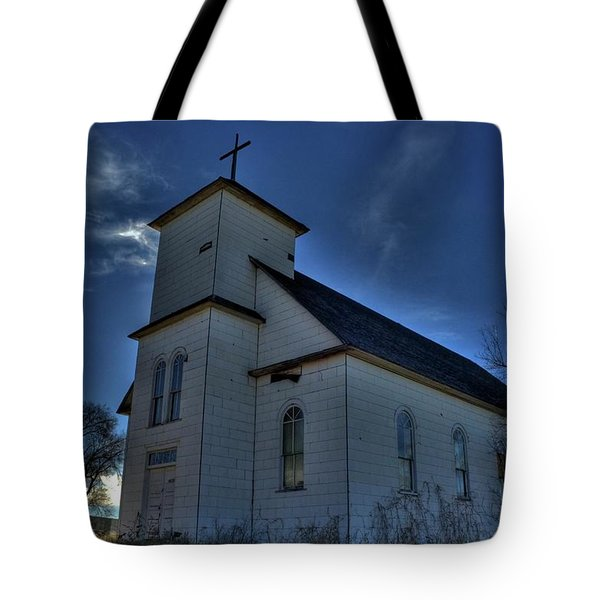 Tote Bag featuring the photograph St Agnes by Tony Baca