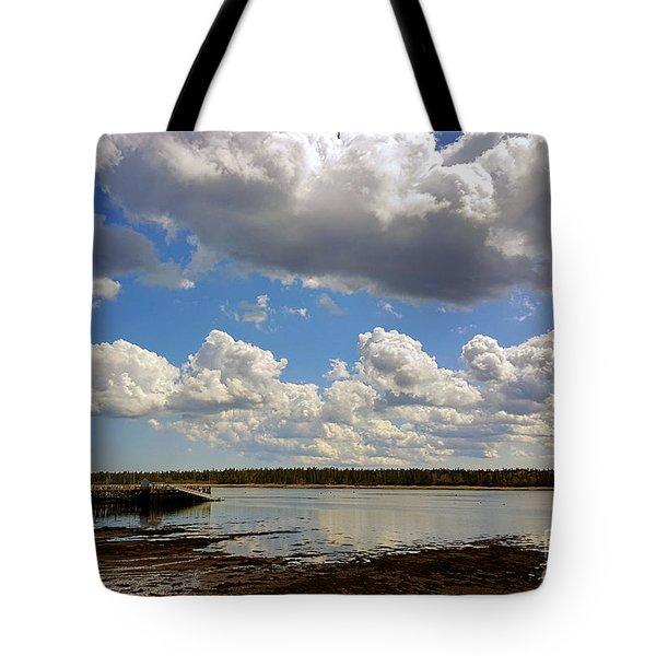 St. Andrews At Low Tide Tote Bag
