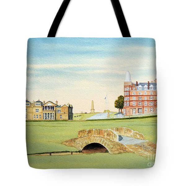St Andrews Golf Course Scotland - Royal And Ancient Tote Bag