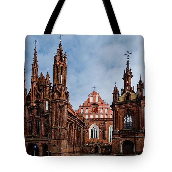 St Annes Church Tote Bag