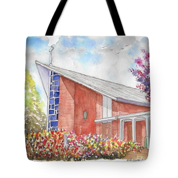 St. Anthony Of Padua Catholic Church, Gardena, California Tote Bag