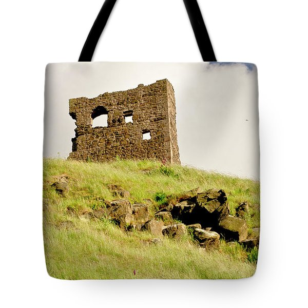 St. Anthony's Chapel Ruins. Tote Bag