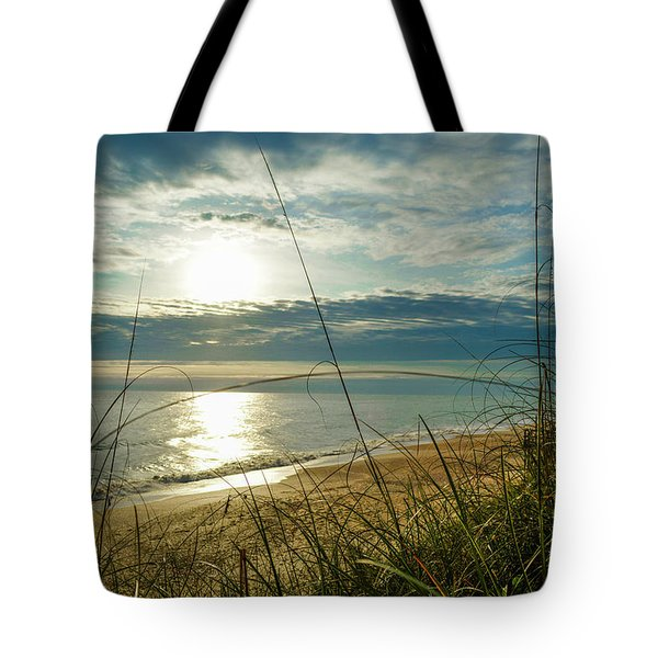 St Aug Sunrise Tote Bag