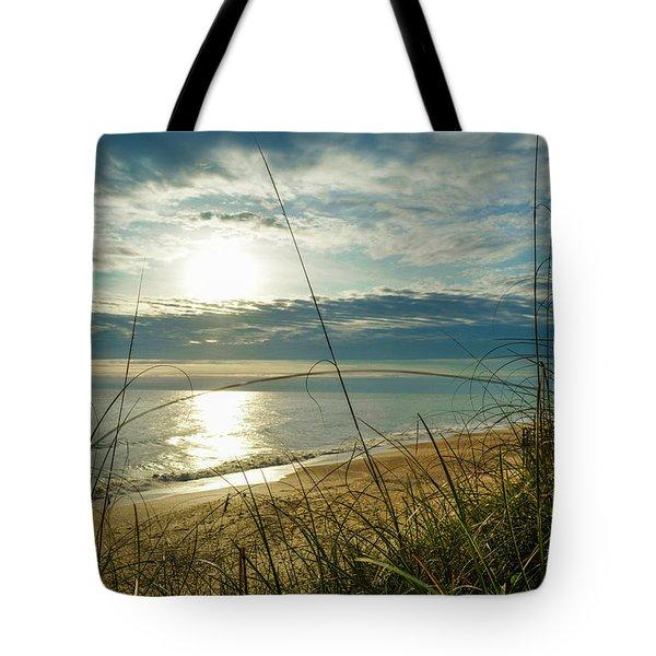St Aug Sunrise Tote Bag
