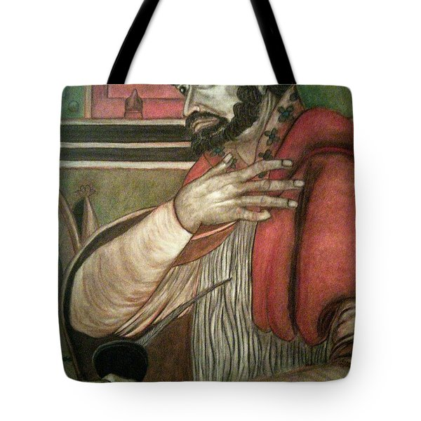 St. Augustine Tote Bag