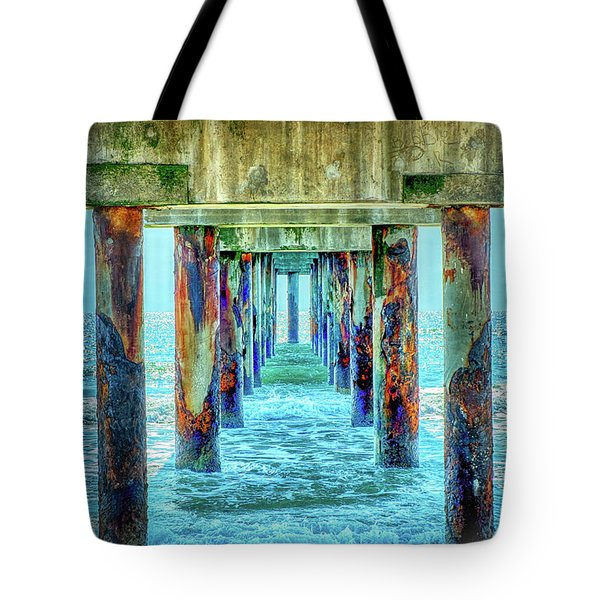 Tote Bag featuring the photograph St. Augustine Beach by Louis Ferreira