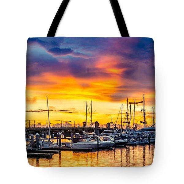 St Augustine Dawn Tote Bag
