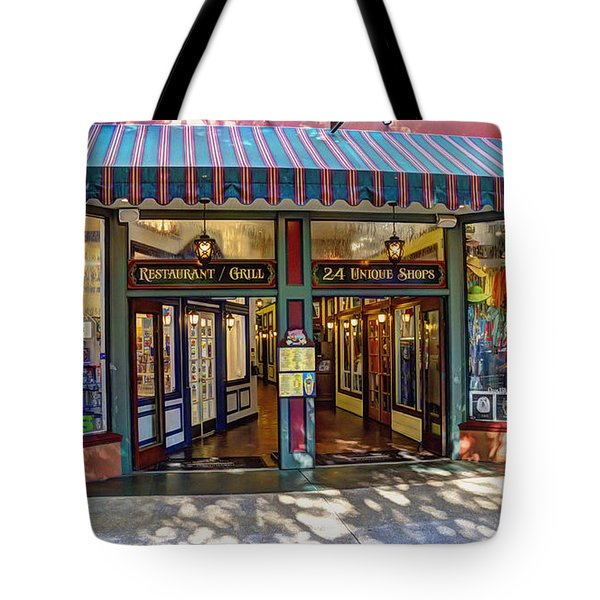 St Augustine Indoor Mall Tote Bag