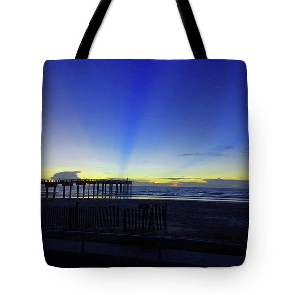 St Augustine Morning Tote Bag