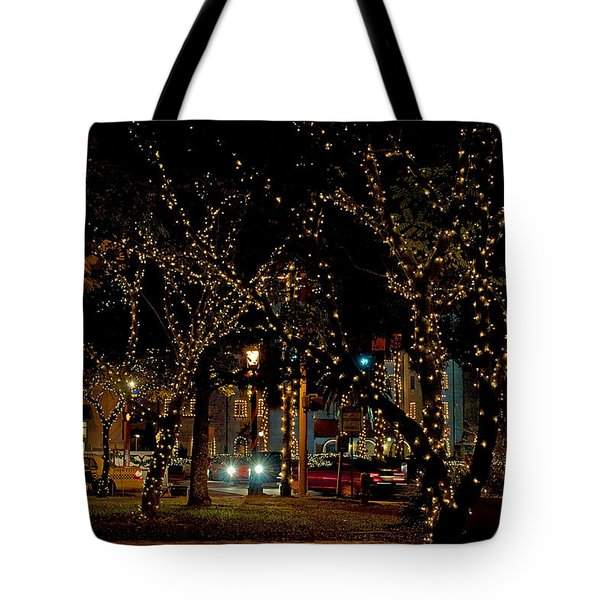 St. Augustinelights3 Tote Bag