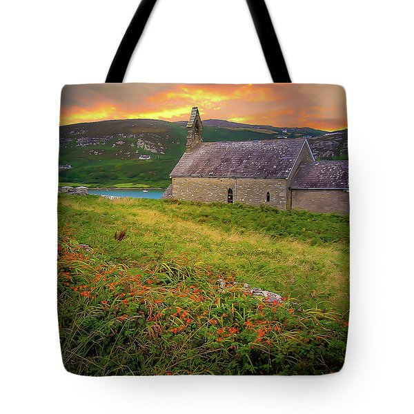 St. Brendan The Navigator Church Of Ireland In Crookhaven Tote Bag