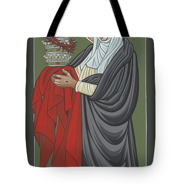 St Catherine Of Siena- Guardian Of The Papacy 288 Tote Bag