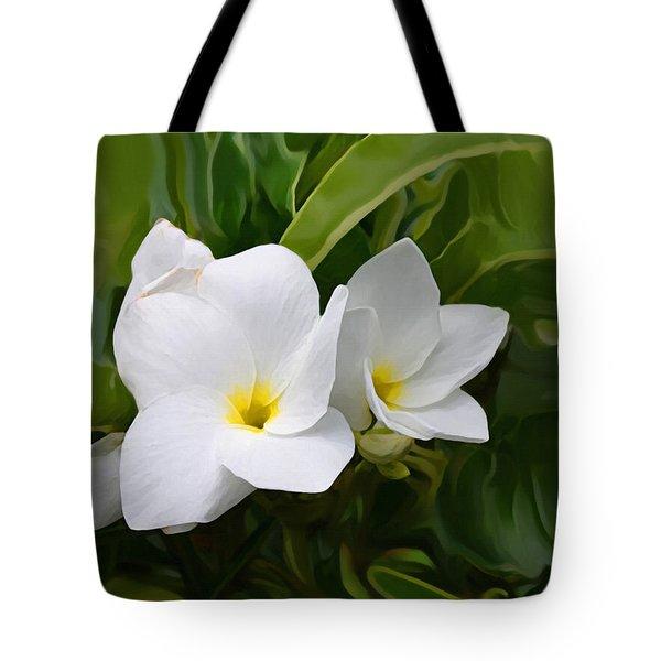 St. Cecelias' Floral Show Tote Bag