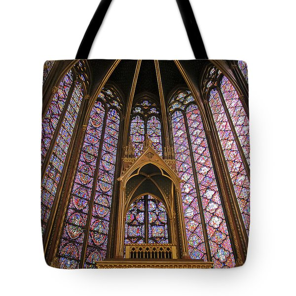 St Chapelle Paris Tote Bag