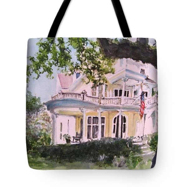 St Charles @ Valance New Orleans Tote Bag