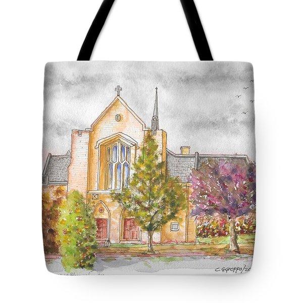 St. Charles Borromeo Catholic Church, Bloomington, Indiana Tote Bag