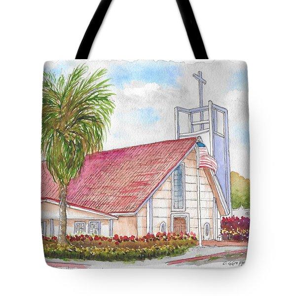 St. Charles Catholic Church, San Diego, California Tote Bag