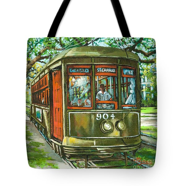 St. Charles No. 904 Tote Bag by Dianne Parks