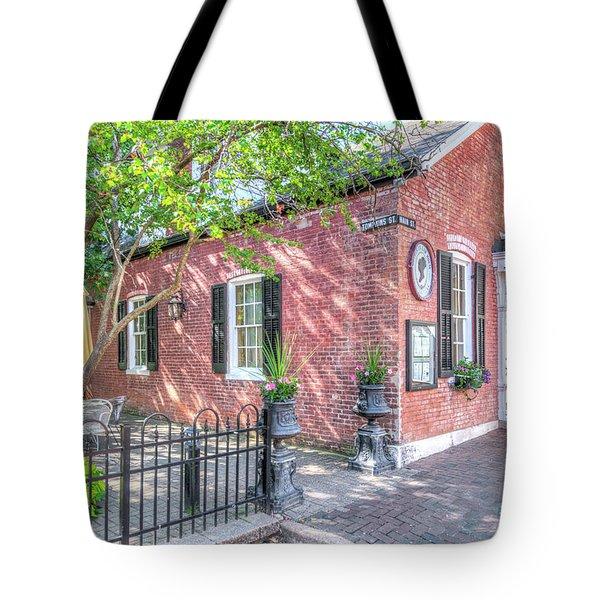 St. Charles Restaurant Tote Bag